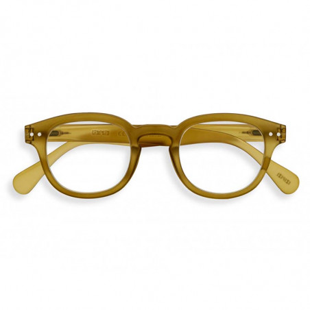 Izipizi Briller, C Reading, Bottle Green Læsebriller med styrke