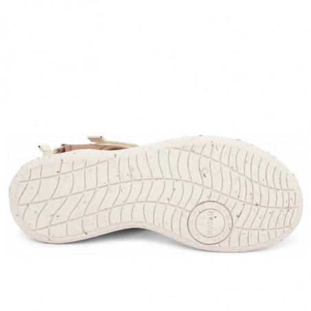 Woden Sandaler, Emilie, Navy, flade sandaler, sandaler med velcro - sål