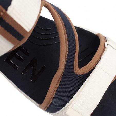 Woden Sandaler, Emilie, Navy, flade sandaler, sandaler med velcro - rem