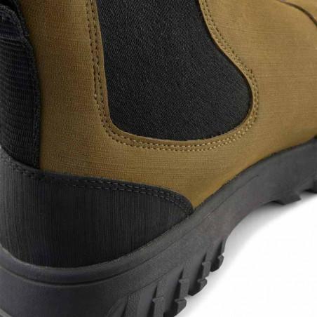 Woden Gummistøvler, Magda Rubber Track, Dark Olive/Black, gummistøvler til kvinder - hæl