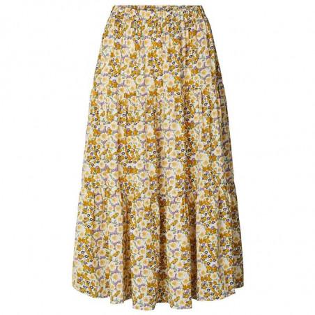 Lollys Laundry nederdel, blomstret nederdel, flower print