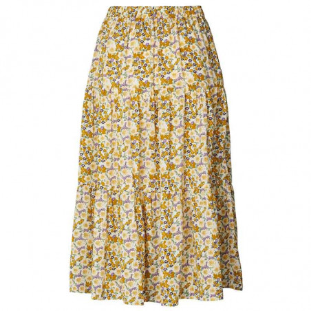 Lollys Laundry nederdel, blomstret nederdel, flower print, bagside