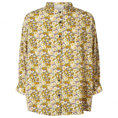 Lollys Laundry Skjorte, Ralph, Flower Print