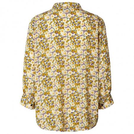 Lollys Laundry Skjorte, Ralph, Flower Print set bagfra