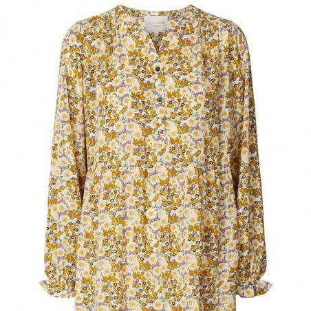 Lollys Laundry Kjole, Audrey, Flower Print detalje