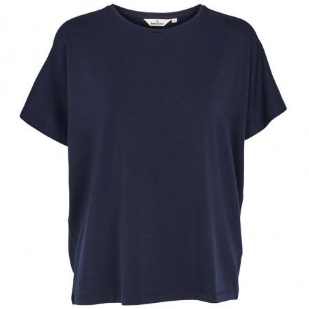 Basic Apparel T-shirt, Joline, Navy, basic t-shirt