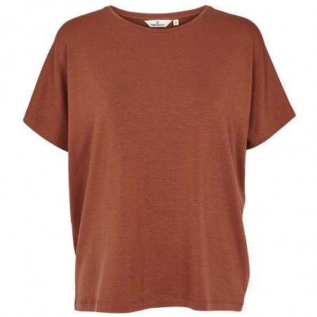 Basic Apparel T-shirt, Joline, Mink, basic t-shirt