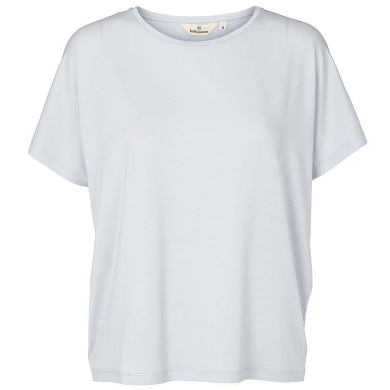 Basic Apparel T-shirt, Joline, Arctic Ice, basic tøj