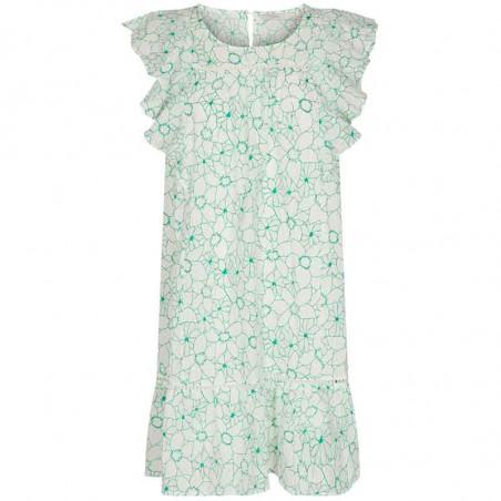 Nümph Kjole, Nugrenoble, Cloud Dancer, sommerkjole, kjole til hverdag, hverdagskjole, kjole med print