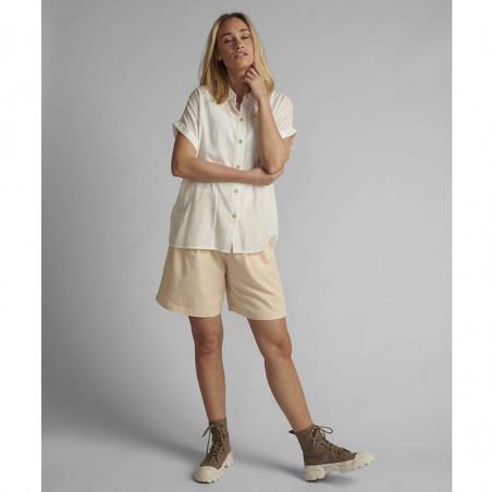 Nümph Skjorte, Nucathy, Bright White, hvid skjorte, Nümph tøj, Numph bluse - langt fra