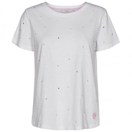 Nümph T-shirt, Nuceil, Multi Numph bluse