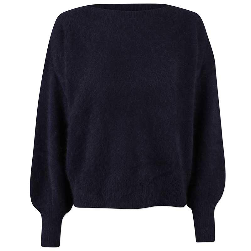 Six Ames Strik, Malou, Night Sky Racoon pullover