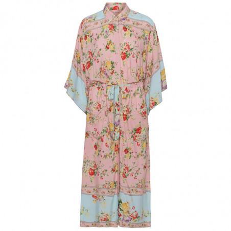 Hunkøn Kimono, Clarissa, Light Pink, kimono, skjortekjoler