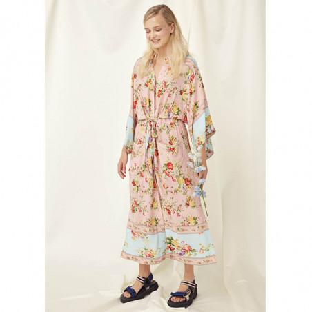 Hunkøn Kimono, Clarissa, Light Pink, kimono, skjortekjoler, hverdagskjoler