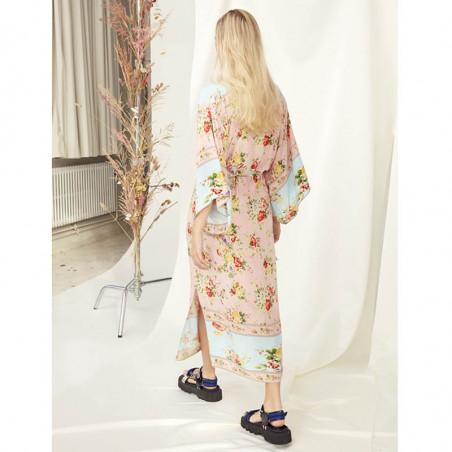 Hunkøn Kimono, Clarissa, Light Pink, kimono, skjortekjoler, festkjoler