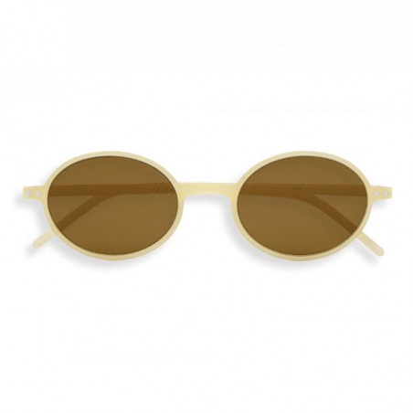 Izipizi Solbriller, Slim Sun, Cream, solbriller med UV