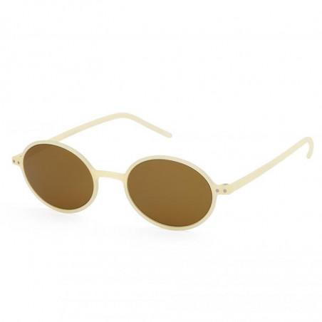 Izipizi Solbriller, Slim Sun, Cream, solbriller med UV, retro-inspireret solbriller