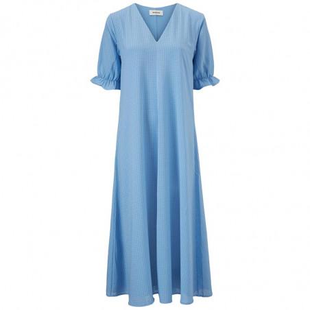 Modström Kjole, Clementine, Allure, sommerkjole, hverdagskjole, lyseblå kjole, festkjole, modstrom kjole, modstrøm