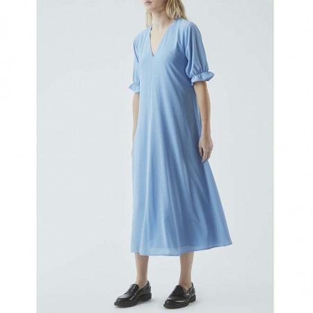 Modström Kjole, Clementine, Allure, sommerkjole, hverdagskjole, lyseblå kjole, festkjole, modstrom kjole, modstrøm - model