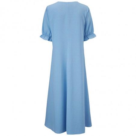 Modström Kjole, Clementine, Allure, sommerkjole, hverdagskjole, lyseblå kjole, festkjole, modstrom kjole, modstrøm - bagside