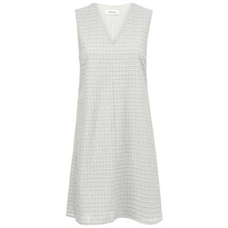 Modström Kjole, Jada, Off White, hverdagskjole, sommerkjole, kort kjole, festkjole