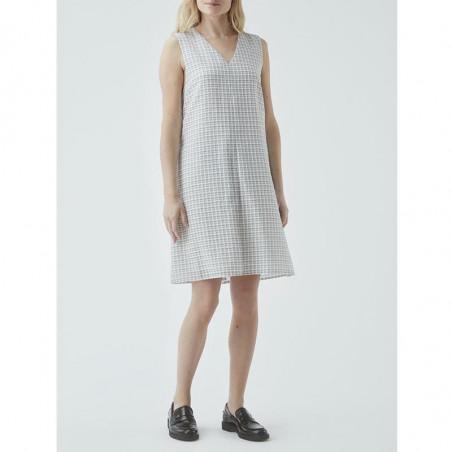 Modström Kjole, Jada, Off White - model, hverdagskjole, sommerkjole, kort kjole, festkjole