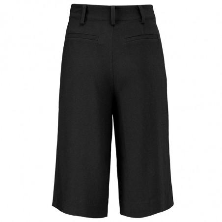 Modström Shorts, Janus , Black, sorte shorts - bagside