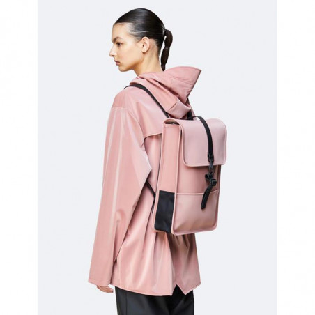 Rains Rygsæk, Backpack Mini, Blush, regntæt rygsæk - Model