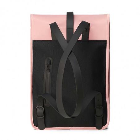 Rains Rygsæk, Backpack Mini, Blush, regntæt rygsæk - bagside