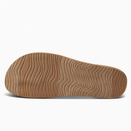 Reef Sandaler, Cushion Strand, Black/Natural, Reef klipklapper - sål