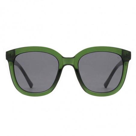 A Kjærbede Solbriller, Billy, Dark Green Transparent, A. Kjærbede solbrille