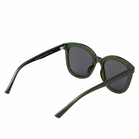 A Kjærbede Solbriller, Billy, Dark Green Transparent, A. Kjærbede solbrille - den anden side
