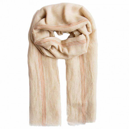 Beck Söndergaard Tørklæde, Brissa Linen, Brownish, tørklæde i bomuld, Hør