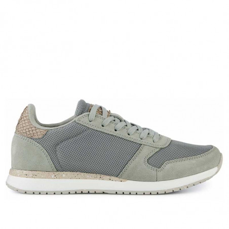 Woden Sneakers, Ydun Fifty, Seagrass woden sko dame woden