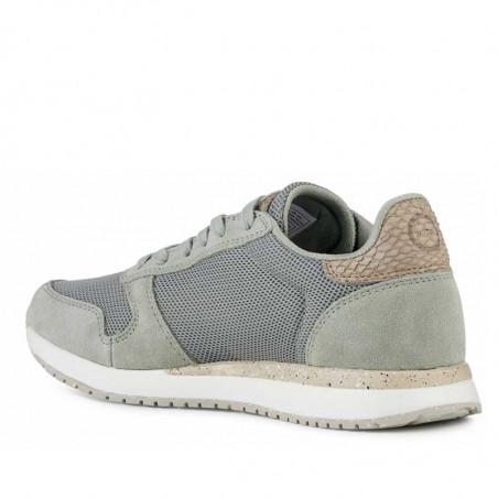 Woden Sneakers, Ydun Fifty, Seagrass woden sko dame woden side 2