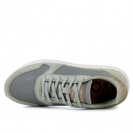 Woden Sneakers, Ydun Fifty, Seagrass woden sko dame woden top
