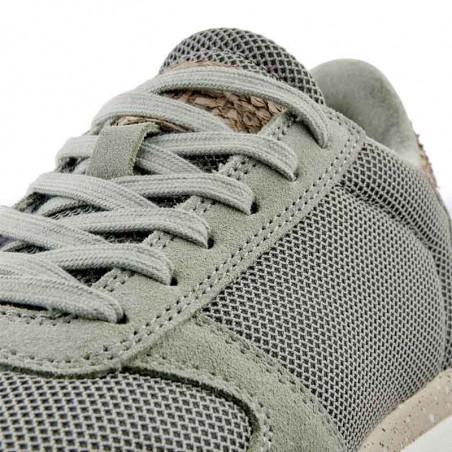 Woden Sneakers, Ydun Fifty, Seagrass woden sko dame woden detalje
