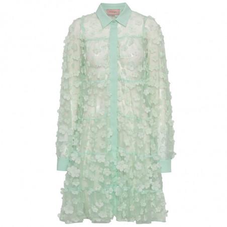 Hunkøn Kjole, Florentina Layer, Mint, sommerkjole, festkjole, skjortekjole, hverdagskjole, mintgrønt