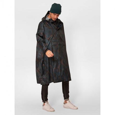 Rainkiss Regnjakke, Storm Camo Poncho, Storm Camo, regntøj,  unisex regnjakke, regnponcho - model