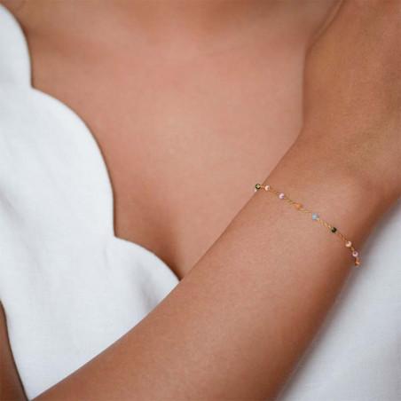 Enamel Armbånd, Lola, Wilderness Enamel smykker guld armbånd