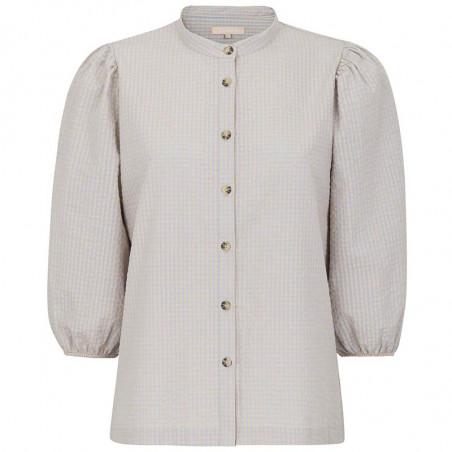 Soft Rebels Skjorte, Juliane, Mini Gingham Yarndyed Check, Soft Rebels bluse