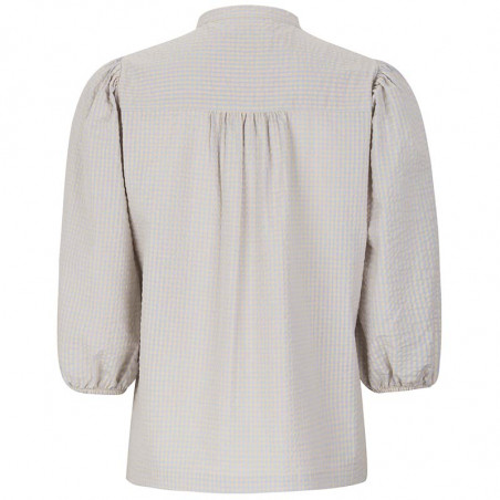 Soft Rebels Skjorte, Juliane, Mini Gingham Yarndyed Check, Soft Rebels bluse - bagside