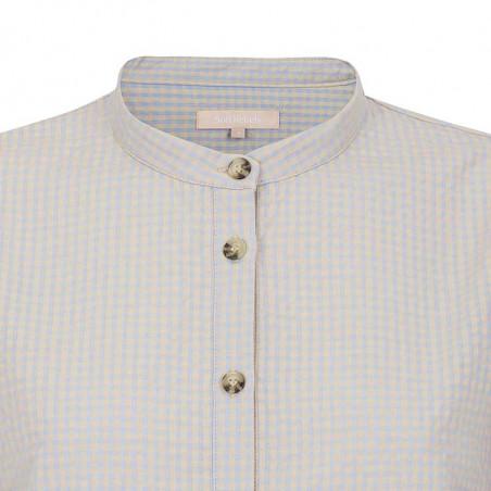 Soft Rebels Skjorte, Juliane, Mini Gingham Yarndyed Check, Soft Rebels bluse - knapper
