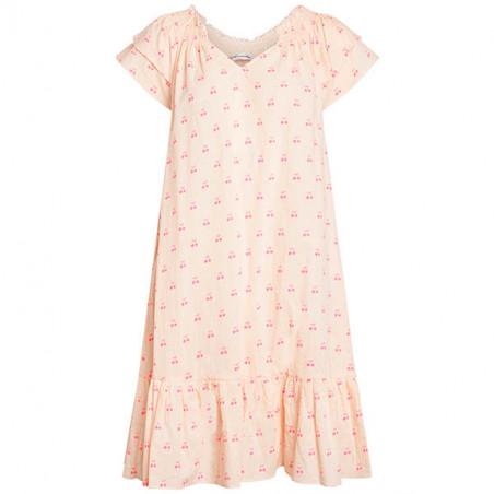 Co'Couture Kjole, Sunrise Crop Cherry, Neon Pink festkjoler, hverdagskjoler, sommerkjoler