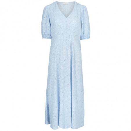 Modström Kjole, Tammi, Blue Mini Bloom, sommerkjoler, hverdagskjole, festkjole, Modstrøm kjole