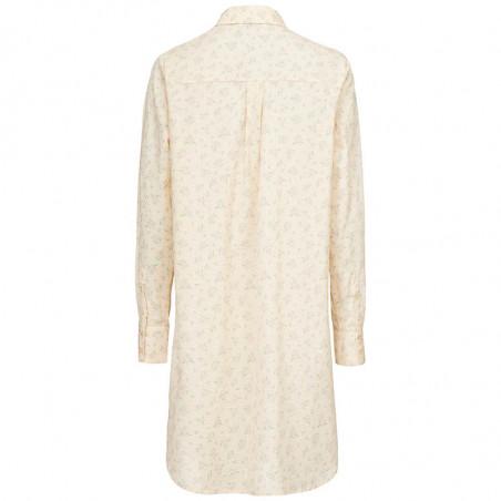 Modström Skjorte, Juna, Romantic Flower, langærmet skjorte, Modström Juna shirt - Bagside