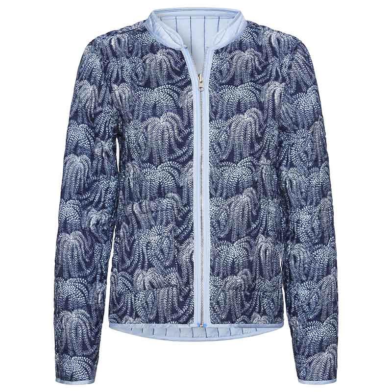 PBO Jakke, Howli Quilt, Blue Print, forårsjakke, sommerjakke, quiltet jakke