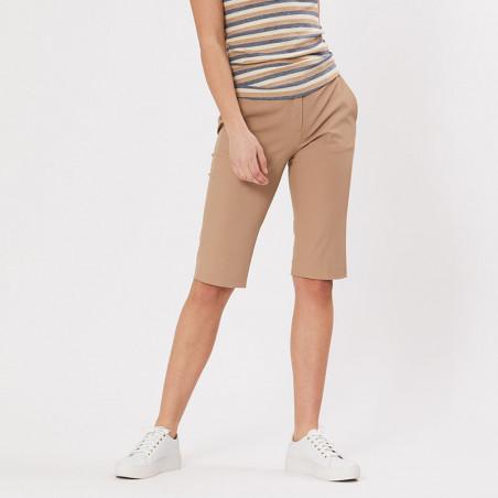 PBO Shorts, Beck Capri, Sand, lange shorts - model