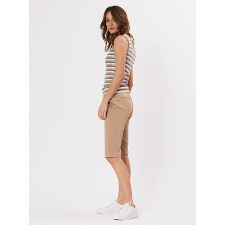 PBO Shorts, Beck Capri, Sand, lange shorts - fra siden