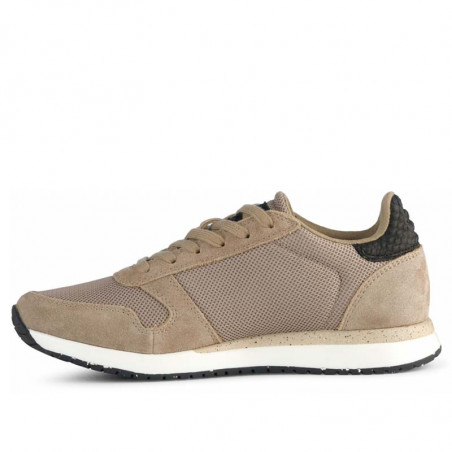 Woden Sneakers, Ydun Fifty, Silver Mink - den anden side